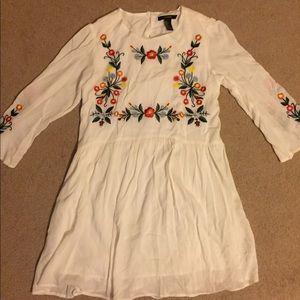 Forever 21 Dresses - •Forever 21• Embroidered Dress
